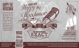 Hoppy The Woodsman Lable